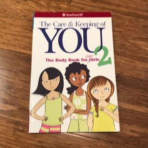 American Girl book: The Care & Keeping of You 2